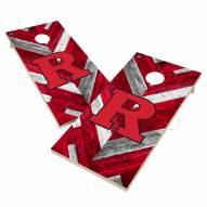Rutgers Scarlet Knights Herringbone Cornhole Game Set