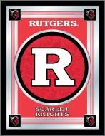 Rutgers Scarlet Knights Logo Mirror