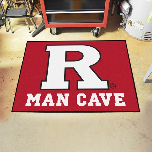 Rutgers Scarlet Knights Man Cave All-Star Rug