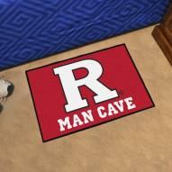 Rutgers Scarlet Knights Man Cave Starter Mat