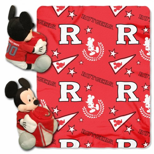 Rutgers Scarlet Knights Mickey Mouse Hugger