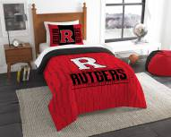 Rutgers Scarlet Knights Modern Take Twin Comforter Set