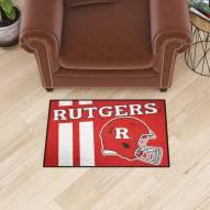 Rutgers Scarlet Knights NCAA Starter Rug