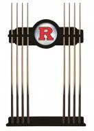 Rutgers Scarlet Knights Pool Cue Rack