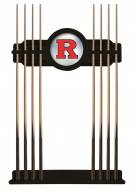 Rutgers Scarlet Knights Pool Cue Rack