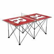 Rutgers Scarlet Knights Pop Up 6' Ping Pong Table