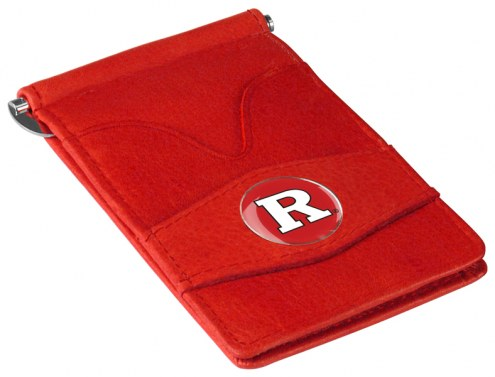 Rutgers Scarlet Knights Red Player's Wallet