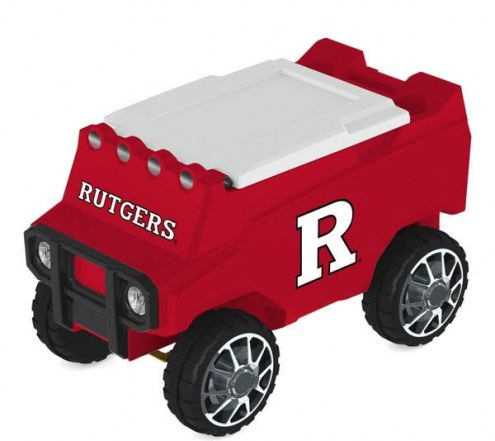 Rutgers Scarlet Knights Remote Control Rover Cooler
