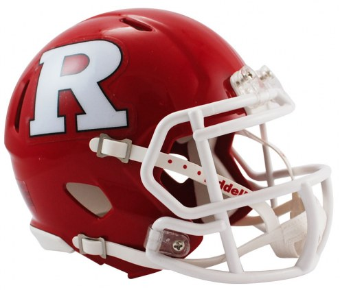 Rutgers Scarlet Knights Riddell Speed Mini Collectible Football Helmet