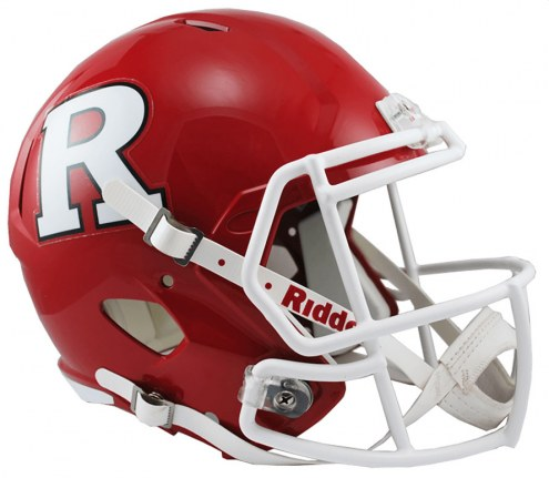 Rutgers Scarlet Knights Riddell Speed Collectible Football Helmet