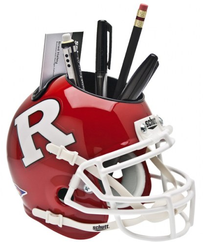 Rutgers Scarlet Knights Schutt Football Helmet Desk Caddy
