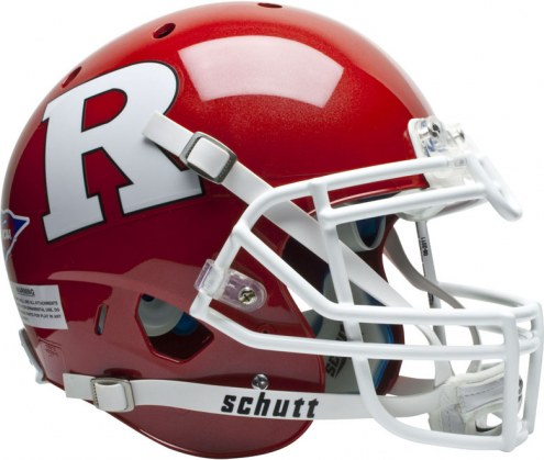 Rutgers Scarlet Knights Schutt XP Authentic Full Size Football Helmet