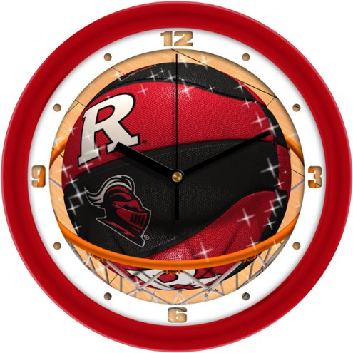 Rutgers Scarlet Knights Slam Dunk Wall Clock