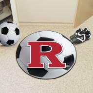 Rutgers Scarlet Knights Soccer Ball Mat