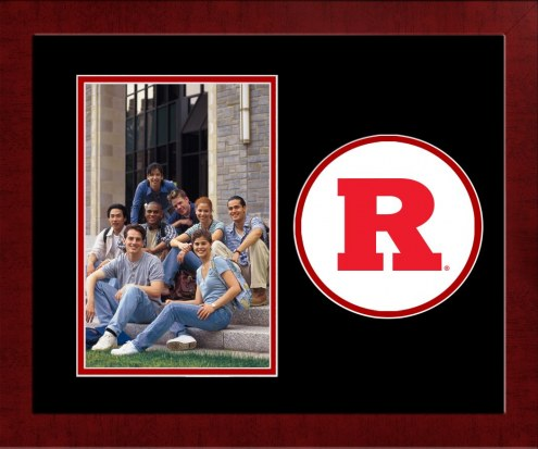Rutgers Scarlet Knights Spirit Vertical Photo Frame
