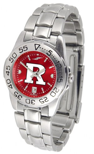 Rutgers Scarlet Knights Sport Steel AnoChrome Women's Watch