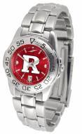 Rutgers Scarlet Knights Sport Steel AnoChrome Women's Watch