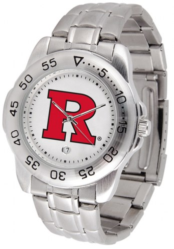 Rutgers Scarlet Knights Sport Steel Men's Watch