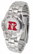 Rutgers Scarlet Knights Sport Steel Women's Watch