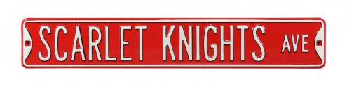 Rutgers Scarlet Knights Street Sign