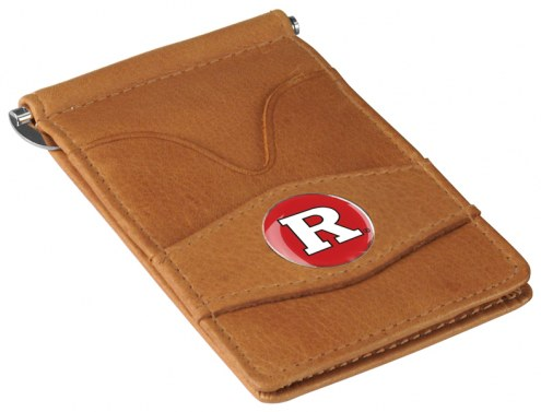 Rutgers Scarlet Knights Tan Player's Wallet