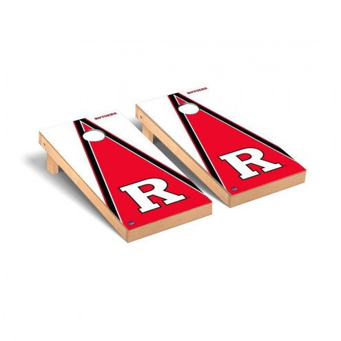 Rutgers Scarlet Knights Triangle Cornhole Game Set
