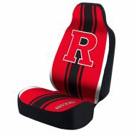Rutgers Scarlet Knights Universal Bucket Car Seat Cover