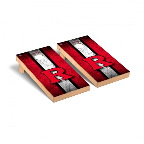 Rutgers Scarlet Knights Vintage Cornhole Game Set