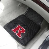 Rutgers Scarlet Knights Vinyl 2-Piece Car Floor Mats