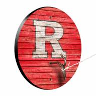 Rutgers Scarlet Knights Weathered Design Hook & Ring Game