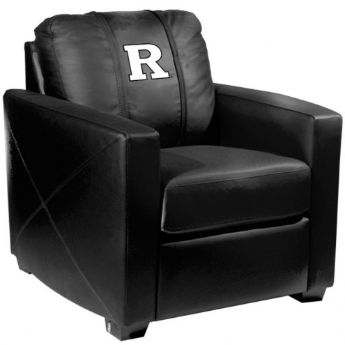 Rutgers Scarlet Knights XZipit Silver Club Chair with White Logo