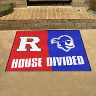 Rutgers/Seton Hall House Divided Mat