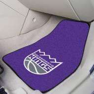 Sacramento Kings 2-Piece Carpet Car Mats