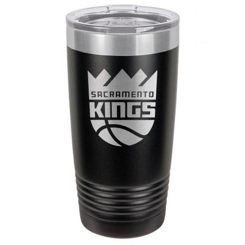 Sacramento Kings 20 oz. Black Stainless Steel Polar Tumbler