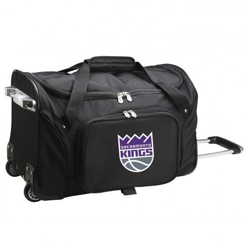"Sacramento Kings 22"" Rolling Duffle Bag"