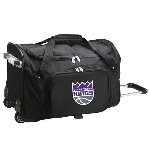 "Sacramento Kings 22"" Rolling Duffle Bag"