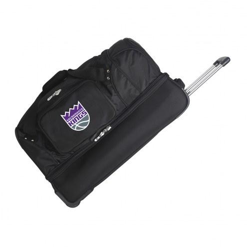 "Sacramento Kings 27"" Drop Bottom Wheeled Duffle Bag"