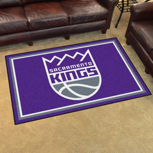 Sacramento Kings 4' x 6' Area Rug