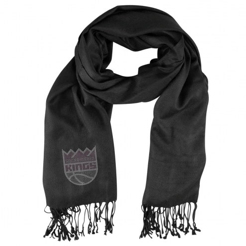 Sacramento Kings Black Pashi Fan Scarf