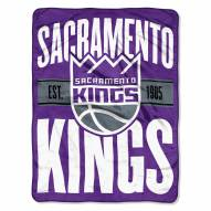 Sacramento Kings Clear Out Throw Blanket