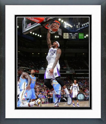 Sacramento Kings DeMarcus Cousins Action Framed Photo