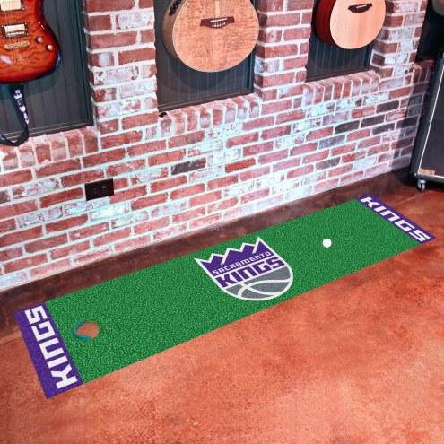 Sacramento Kings Golf Putting Green Mat
