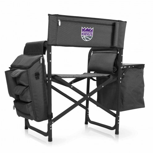 Sacramento Kings Gray/Black Fusion Folding Chair