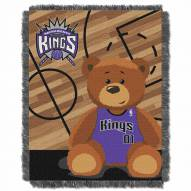 Sacramento Kings Half Court Baby Blanket