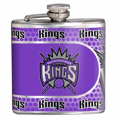 Sacramento Kings Hi-Def Stainless Steel Flask