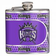 Sacramento Kings Hi-Def Stainless Steel Flask