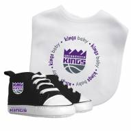 Sacramento Kings Infant Bib & Shoes Gift Set