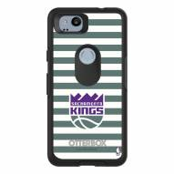 Sacramento Kings OtterBox Google Pixel 2 Symmetry Stripes Case