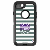 Sacramento Kings OtterBox iPhone 8/7 Defender Stripes Case