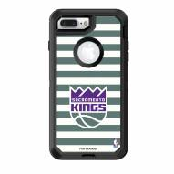Sacramento Kings OtterBox iPhone 8 Plus/7 Plus Defender Stripes Case